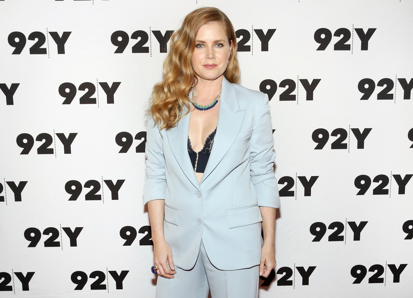 "Actress and executive producer Amy Adams attends HBO's ""Sharp Objects"" New York Screening And Conversation at 92nd Street Y on June 28, 2018 in New York City. (Monica Schipper/Getty Images)"