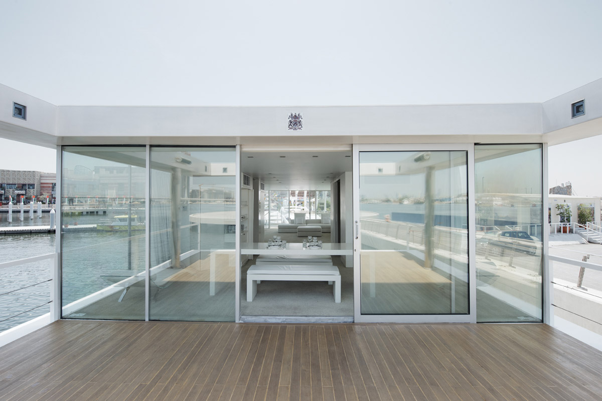 """""""O"""" De Squisito houseboat by X-Architects (Ake Lindman)"""