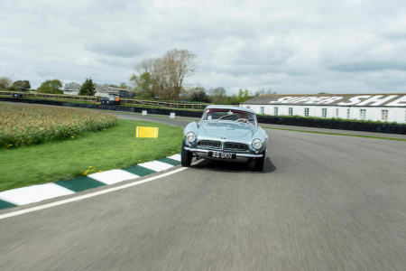 The 1957 BMW 507 Roadster which was owned by racing legend John Surtees that Bonhams is selling at the Goodwood Festival of Speed sale on July 13. (Bonhams)
