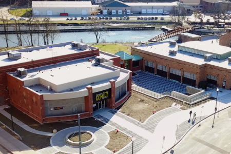The National Comedy Center in Jamestown, NY, will open on August 1. (National Comedy Center)