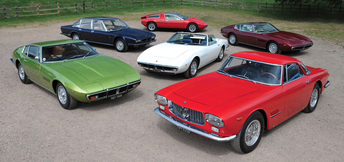 A collection of six special Maseratis are going up for sale at the RM Sotheby's London Sale on September 5. (©2018 Courtesy of RM Sotheby's)