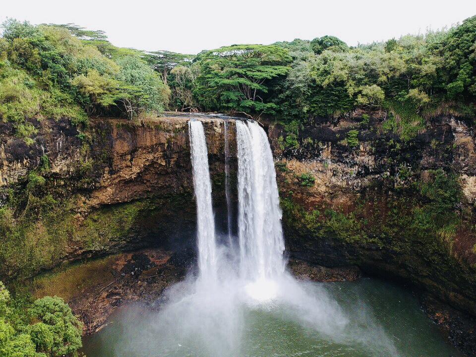Wailua Falls on Kauai (Sally Sorte)