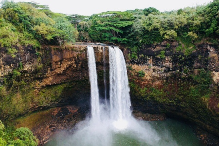 Wailua Falls on Kauai (Sally Sorte)
