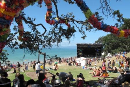 Splore 2017 at Tapapakanga Park, in Orere Point, New Zealand. (Splore)