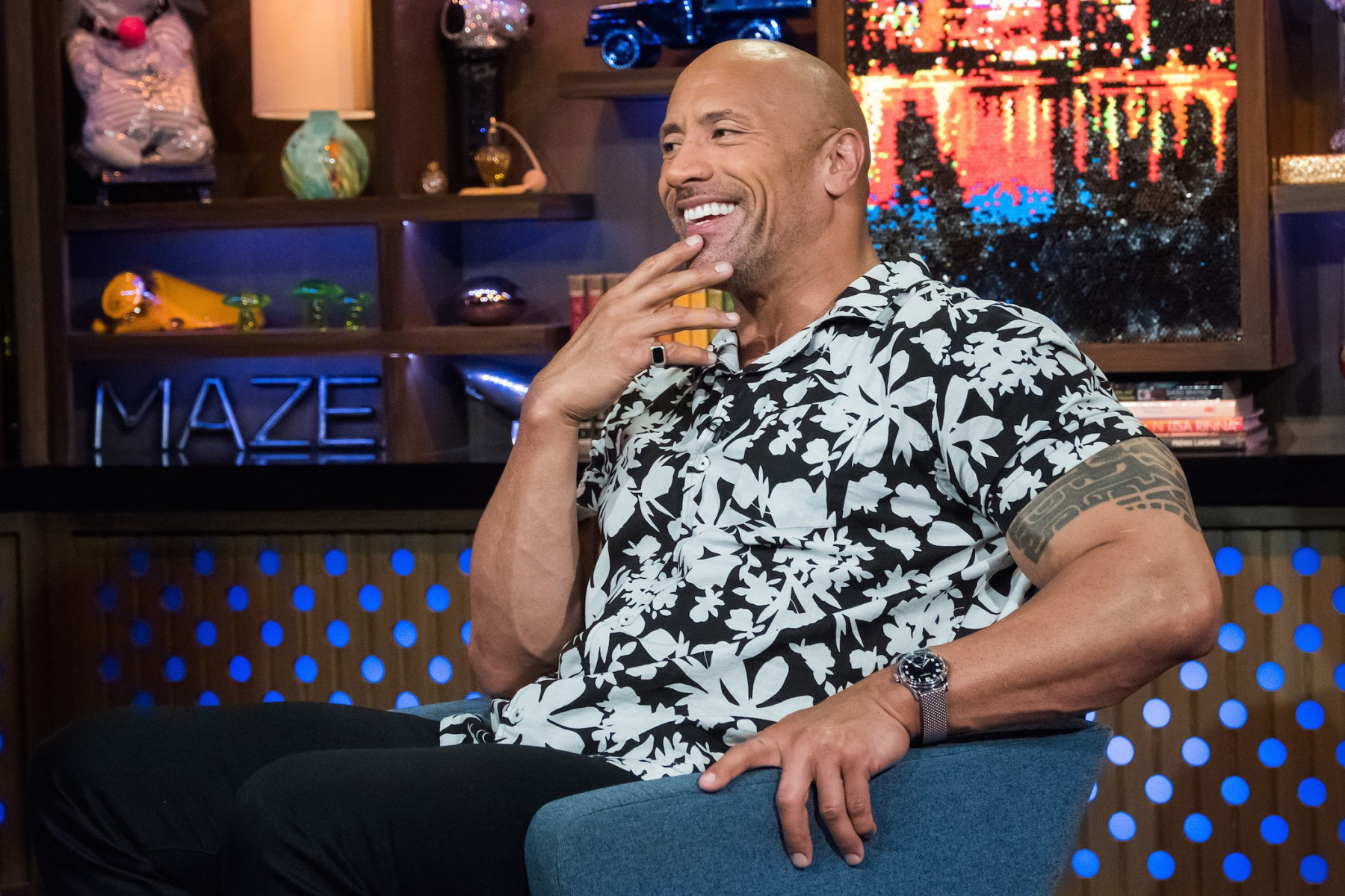 Dwayne Johnson -- (Photo by: Charles Sykes/Bravo/NBCU Photo Bank via Getty Images)