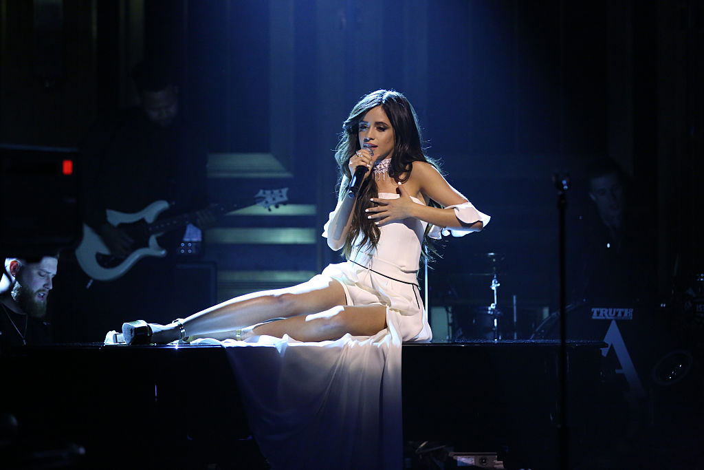 Musical guest Camila Cabello performs on November 23, 2016 -- (Photo by: Andrew Lipovsky/NBC/NBCU Photo Bank via Getty Images)
