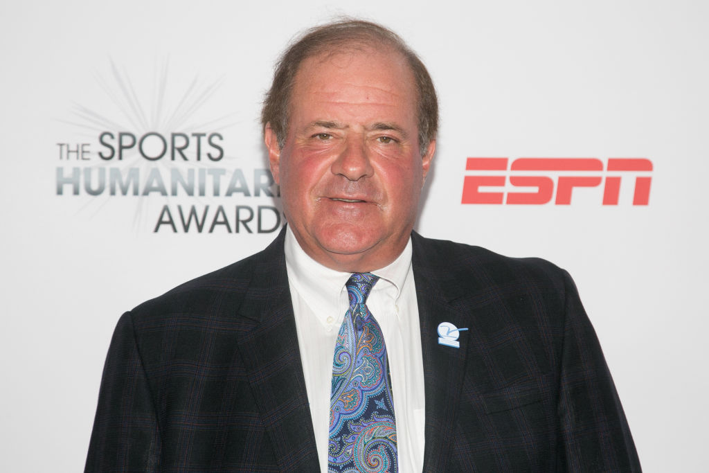 LOS ANGELES, CA - JULY 11:  Chris Berman arrives for the 3rd Annual Sports Humanitarian Of The Year Awards at The Novo by Microsoft on July 11, 2017 in Los Angeles, California.  (Photo by Gabriel Olsen/FilmMagic)