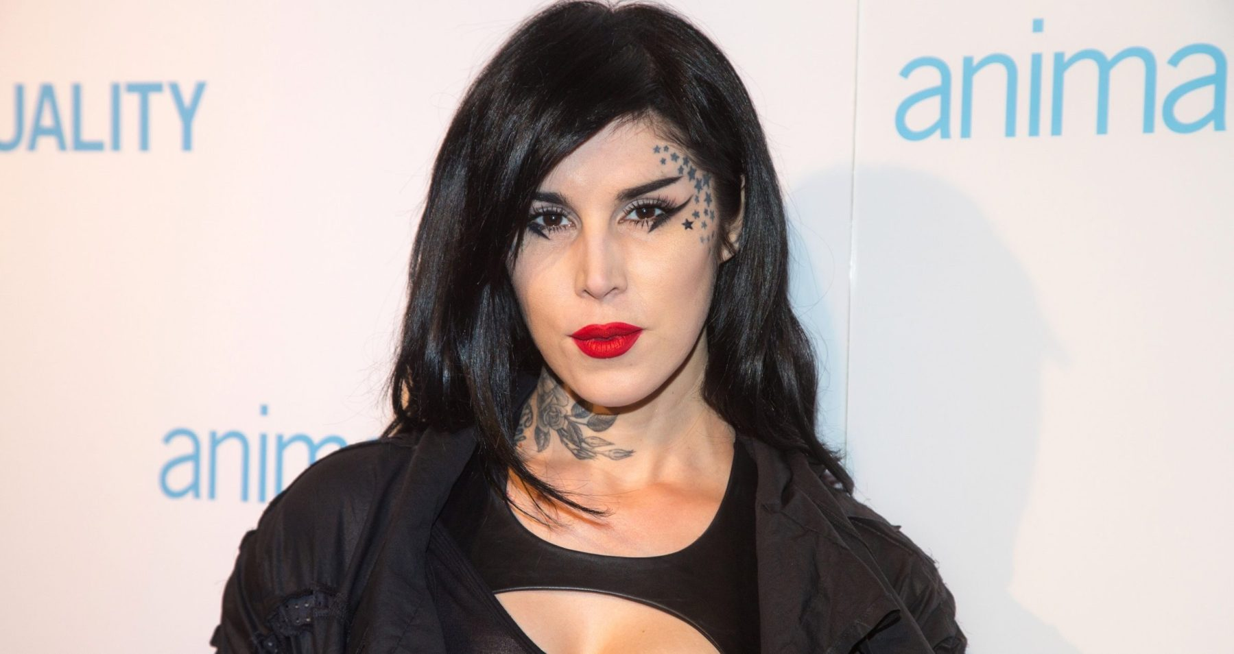 Kat Von D arrives to the Animal Equality Global Action Annual Gala at The Beverly Hilton Hotel on December 2, 2017 in Beverly Hills, California.  (Photo by Gabriel Olsen/FilmMagic)