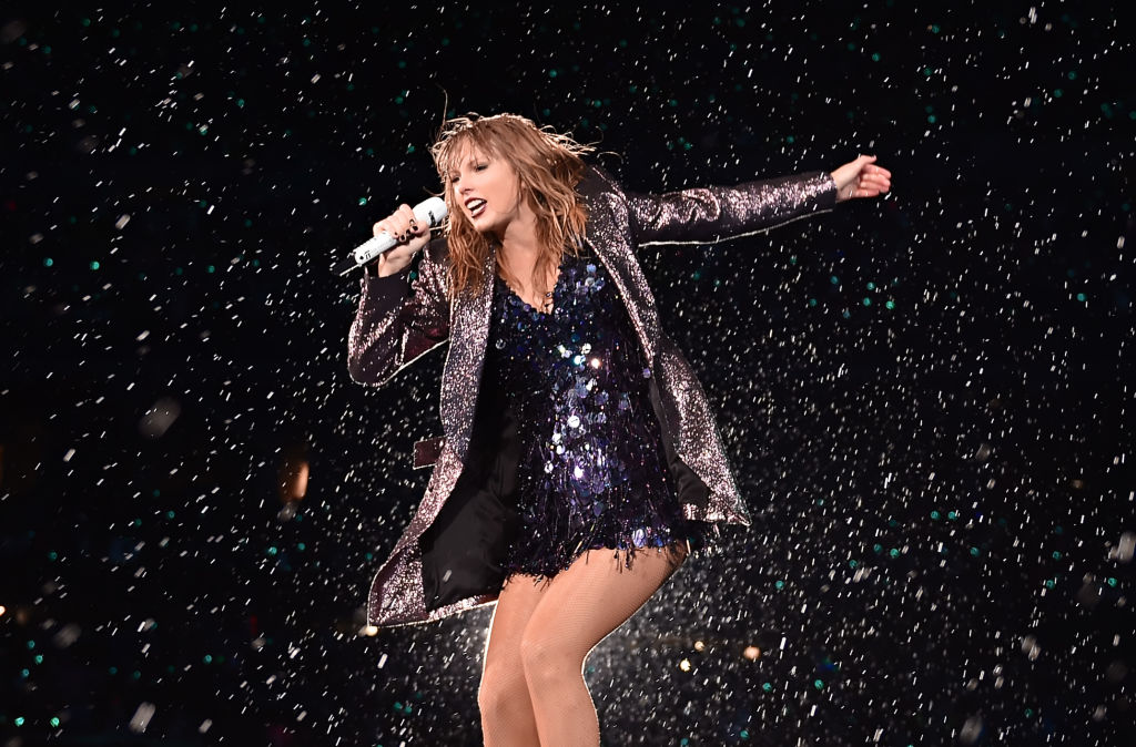 Taylor Swift performs onstage during the 2018 reputation Stadium Tour at Soldier Field on June 2, 2018 in Chicago, Illinois.  (Photo by John Shearer/TAS18/Getty Images for TAS)