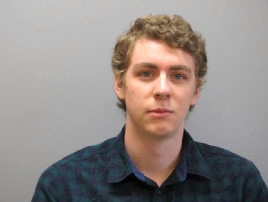 A September 6, 2016 file photo released by the Greene County Sheriff's Office showing Brock Turner officially registering as a sex offender. (Greene County Sheriff's Office)