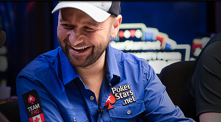Daniel Negreanu at the poker table. (Image via http://danielnegreanu.com)