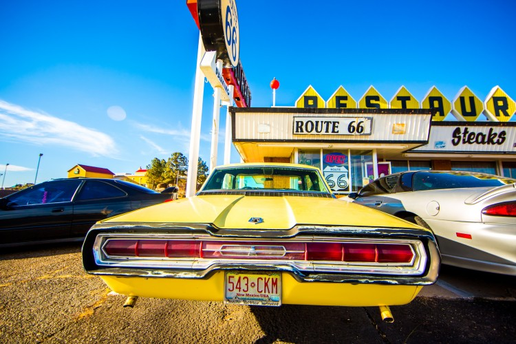 Route 66 restaurant, Santa Rosa, New Mexico (Thomas Hawk/Flickr)
