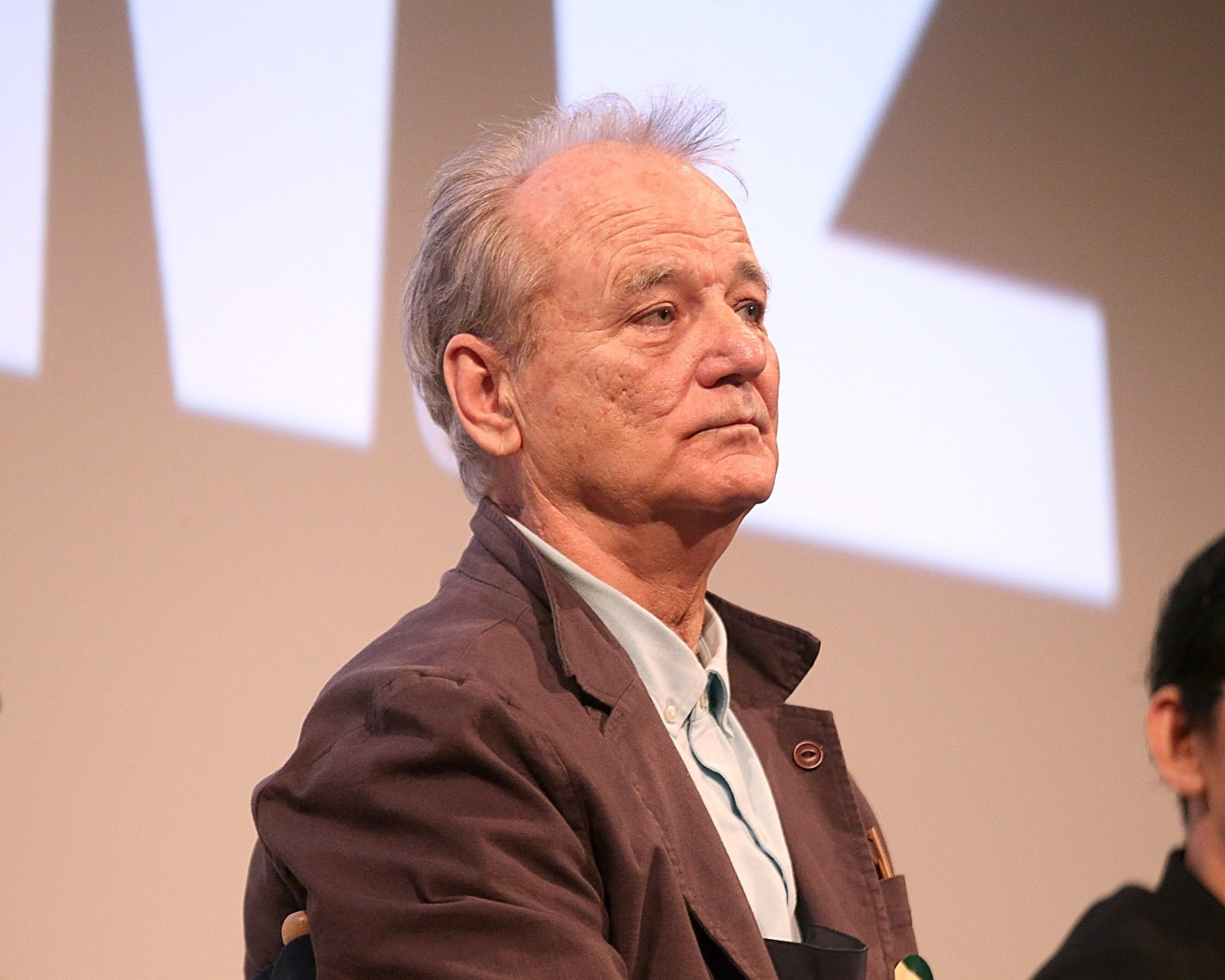 """Bill Murray attends the premiere of """"Isle of Dogs"""" at the Paramount Theatre during South By Southwest on March 17, 2018 in Austin, Texas. Murray recently defended Dustin Hoffman in the wake of several sexual assault and harassment allegations made against Hoffman. (Photo by Gary Miller/FilmMagic)"""