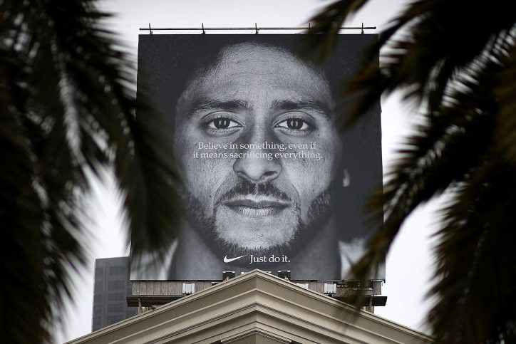 Nike's Controversial Colin Kaepernick Ad Nabs Emmy Award
