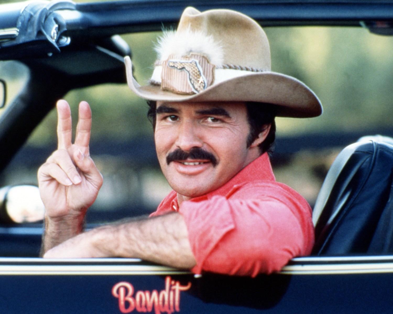 American actor Burt Reynolds, the hero America needs.