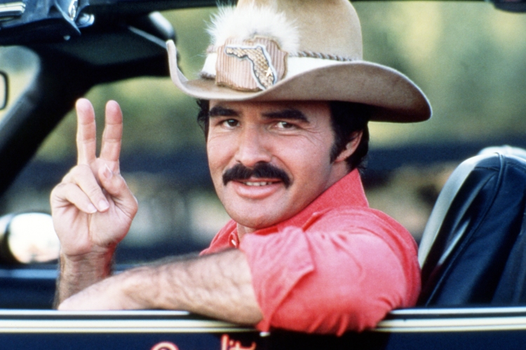 American actor Burt Reynolds, the hero America needs.