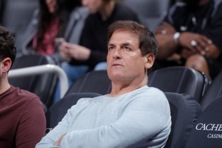 SACRAMENTO, CA - MARCH 27: Dallas Mavericks owner Mark Cuban looks on during the game against the Sacramento Kings on March 27, 2018 at Golden 1 Center in Sacramento, California. (Photo by Rocky Widner/NBAE via Getty Images)