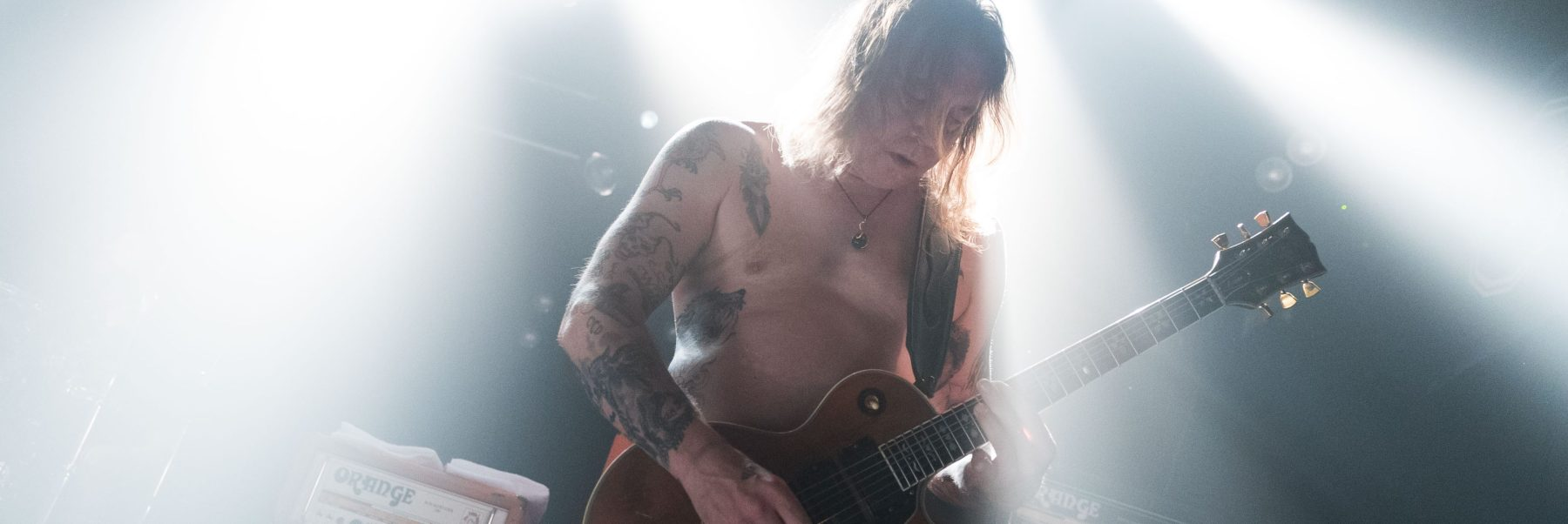 Matt Pike of Sleep performs live on stage during a concert at SO 36 Berlin on May 25, 2018 in Berlin, Germany. (Photo by Andrea Friedrich/Redferns)