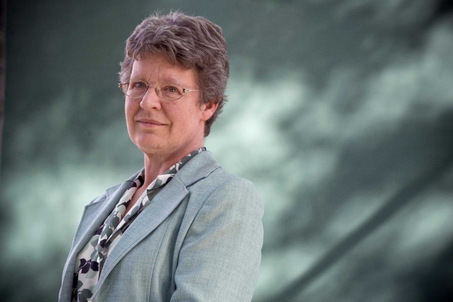 Acclaimed Northern Irish astrophysicist Jocelyn Bell Burnell, pictured at the Edinburgh International Book Festival where she talked about her work which included the discovery of the pulsar. The three-week event is the world's biggest literary festival and is held during the annual Edinburgh Festival. The 2011 event featured talks and presentations by more than 500 authors from around the world. (Photo by Colin McPherson/Corbis via Getty Images)