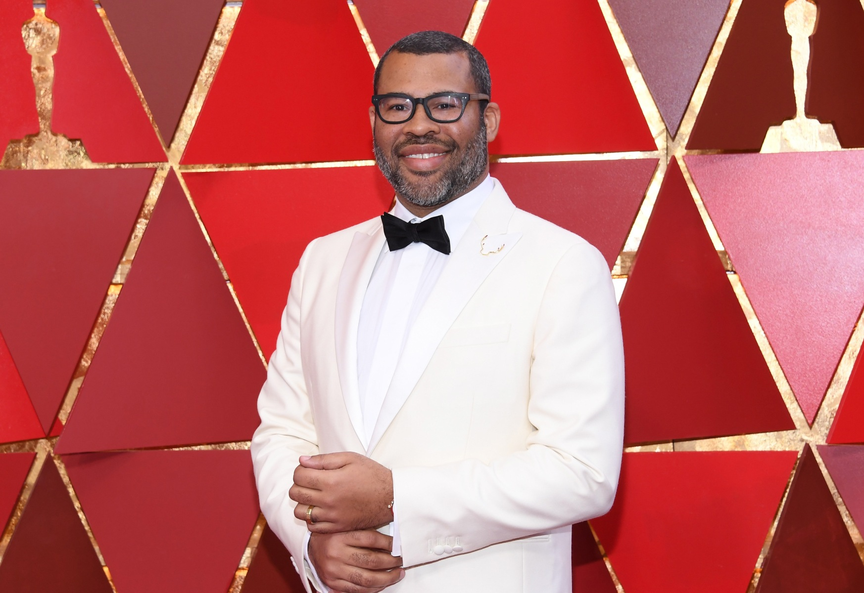 Jordan Peele attends the 90th Annual Academy Awards on March 4, 2018 in Hollywood, California. Peele will host a new version of 'The Twilight Zone.' (Photo by Kevork Djansezian/Getty Images)