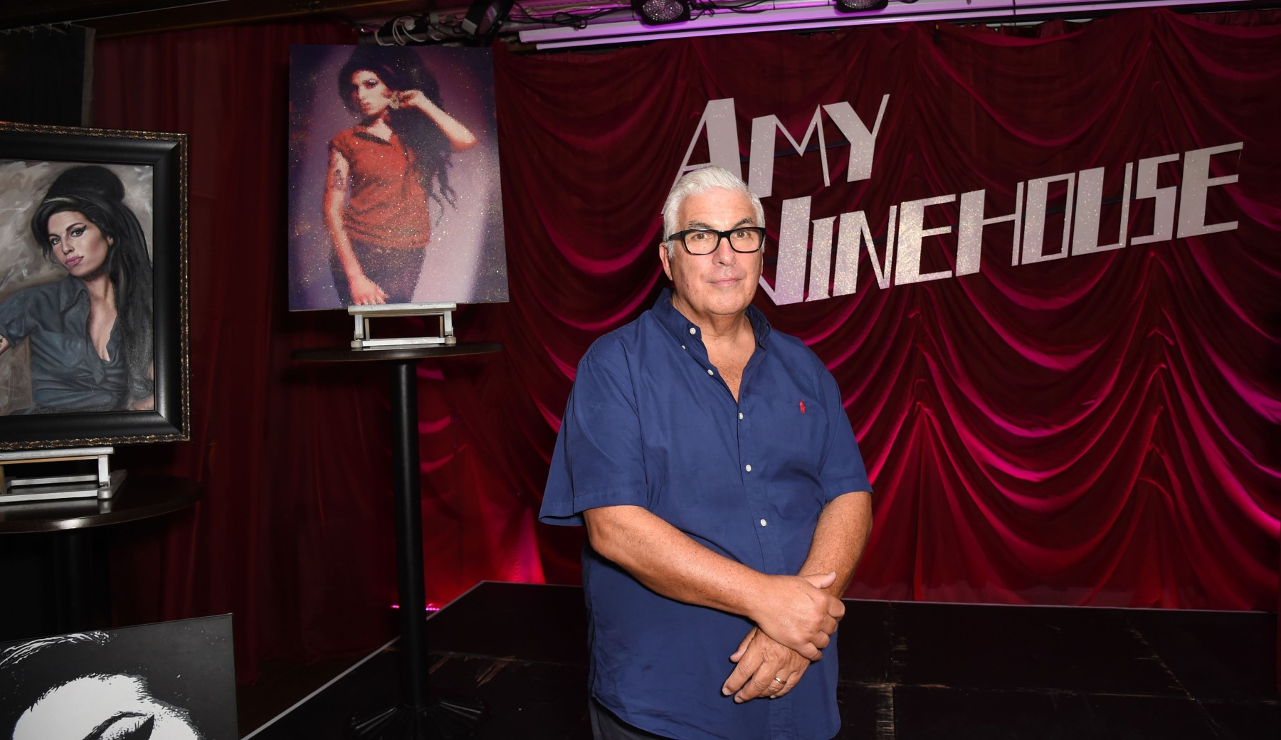 Mitch Winehouse attends a private view of The Amy Winehouse Foundation: Hope at Century Club on September 13, 2016 in London, England.  (Photo by David M. Benett/Dave Benett/Getty Images)