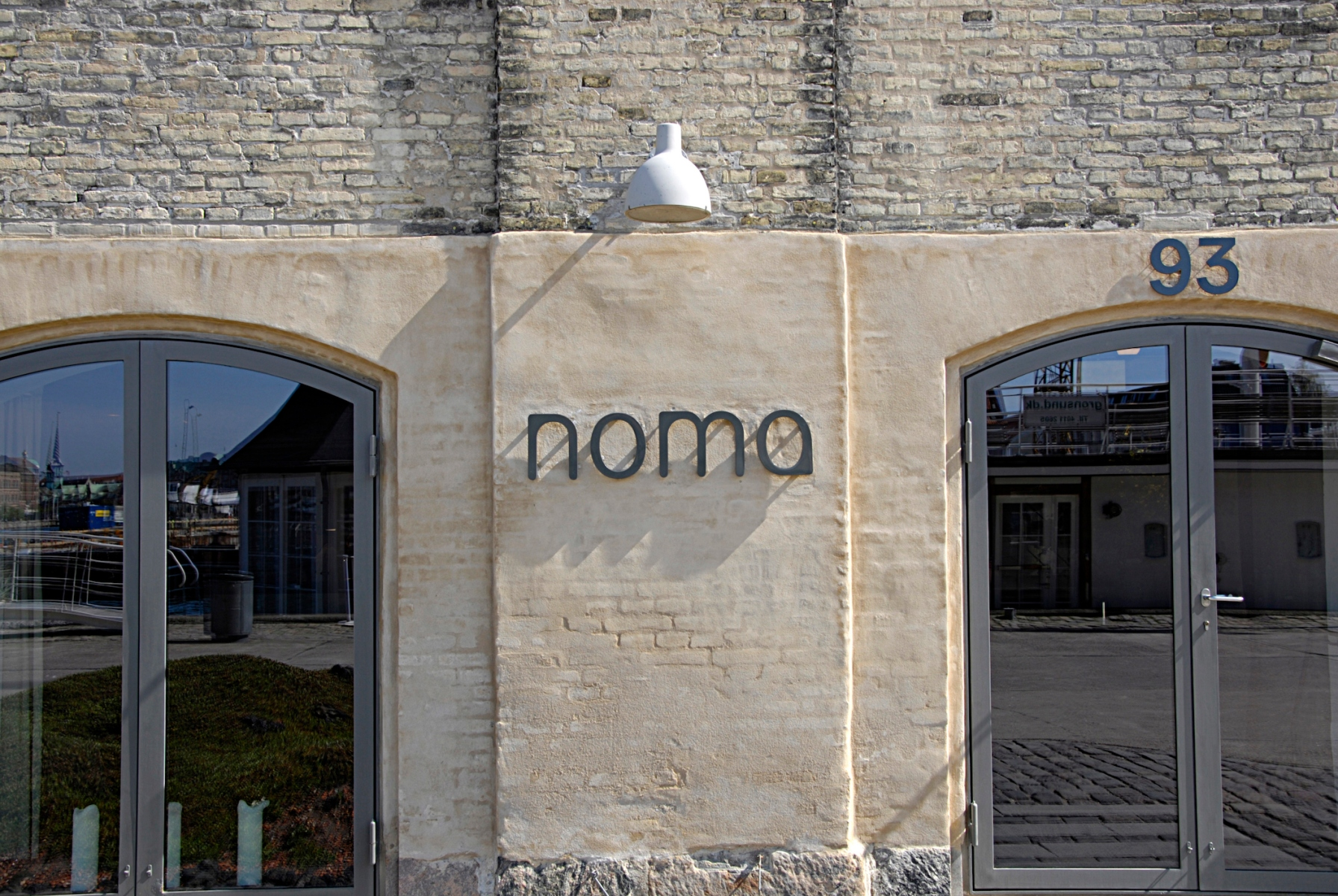 British restaurant magazine name Noma restaurant Worldest best resataurant and people view the manu and srounding the Noma Restaurant in Copenhagen and best among 50 listen restaurants 29 April 2014 (Photo by Francis Dean/Deanpictures) (Photo by Francis Dean/Corbis via Getty Images)