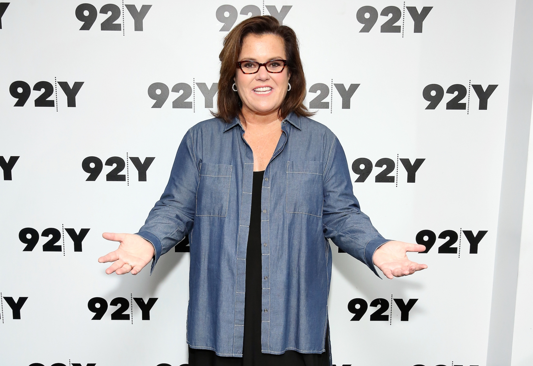 """Actress, comedian and author Rosie O'Donnell attends 92nd Street Y Presents Sheila Nevins & Rosie O'Donnell on May 23, 2017 in New York City. Recent reports suggest that O'Donnell is in the running to replace Julie Chen as host of """"The Talk"""" on CBS. (Photo by Monica Schipper/WireImage)"""