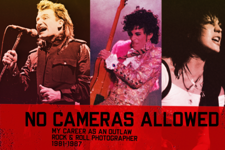 "The front of ""No Cameras Allowed"" by Julian David Stone. (Julian David Stone)"