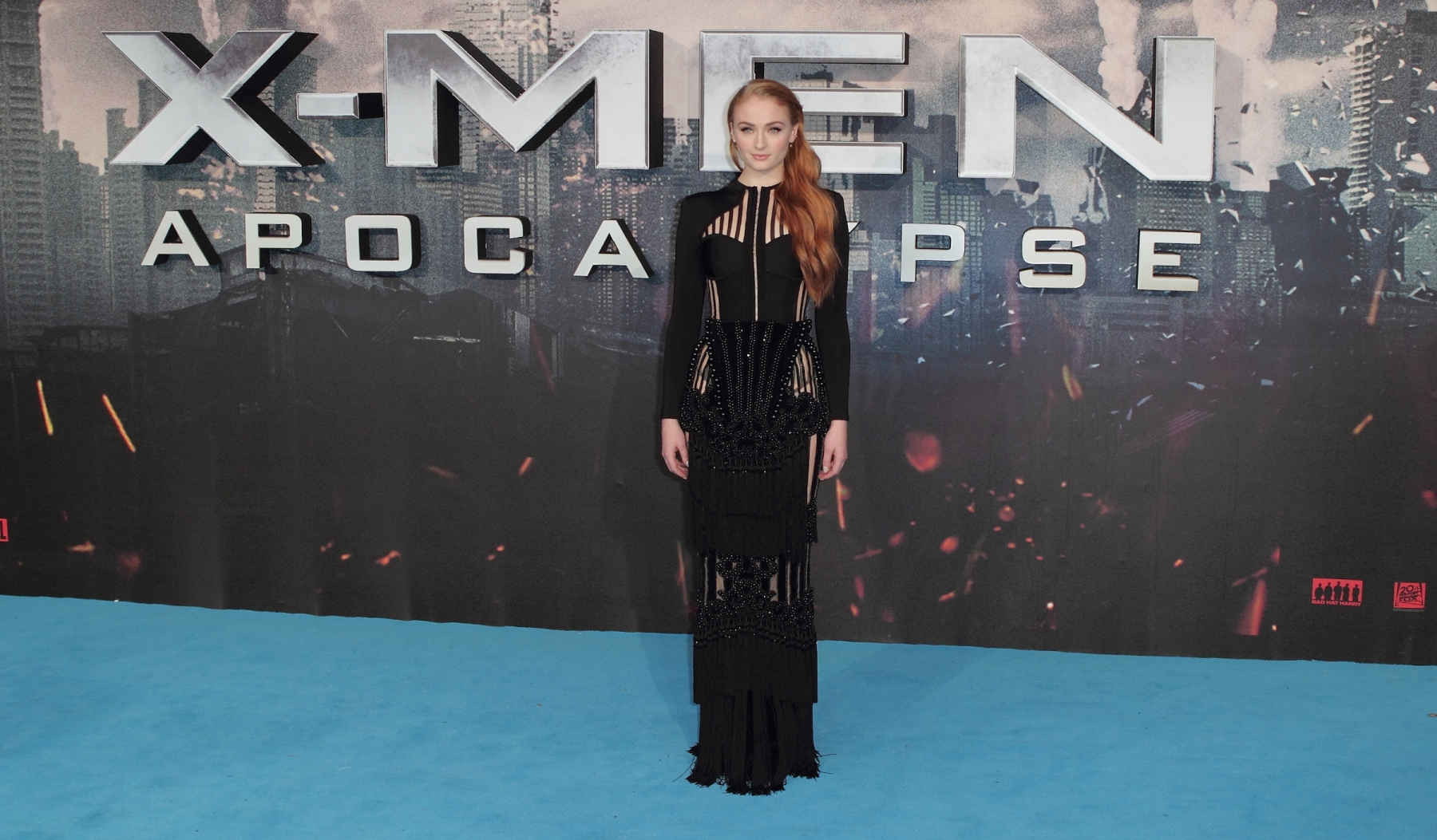 "Sophie Turner attends a Global Fan Screening of 'X-Men Apocalypse' at BFI IMAX on May 9, 2016 in London, England. The trailer for ""X-Men: Dark Phoenix"" starring Turner was released this week. (Photo by Barcroft Images / Barcroft Media via Getty Images)"