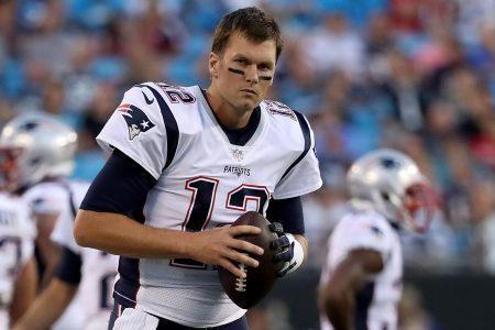 Tom Brady #12 of the New England Patriots. (Photo by Streeter Lecka/Getty Images)