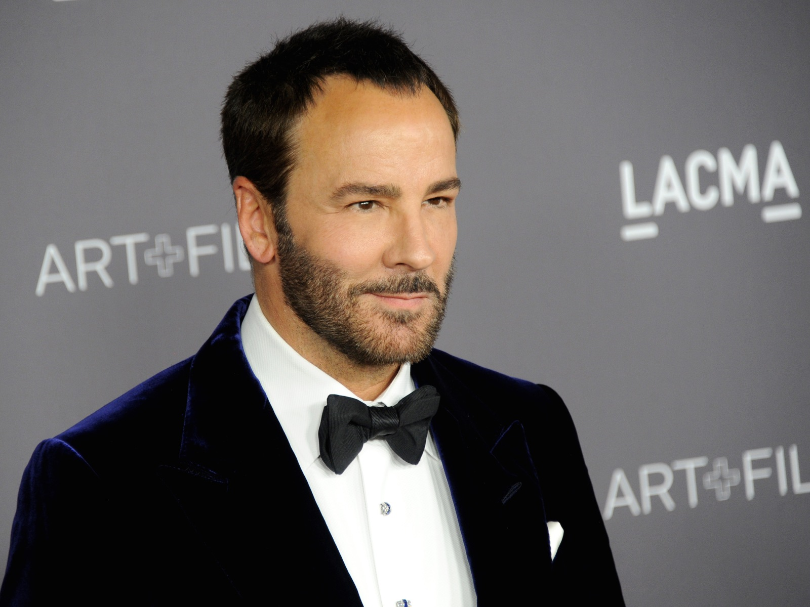 Tom Ford arrives at the 2017 LACMA Art + Film Gala honoring Mark Bradford and George Lucas at LACMA on November 4, 2017 in Los Angeles, California.  (Photo by Gregg DeGuire/WireImage)