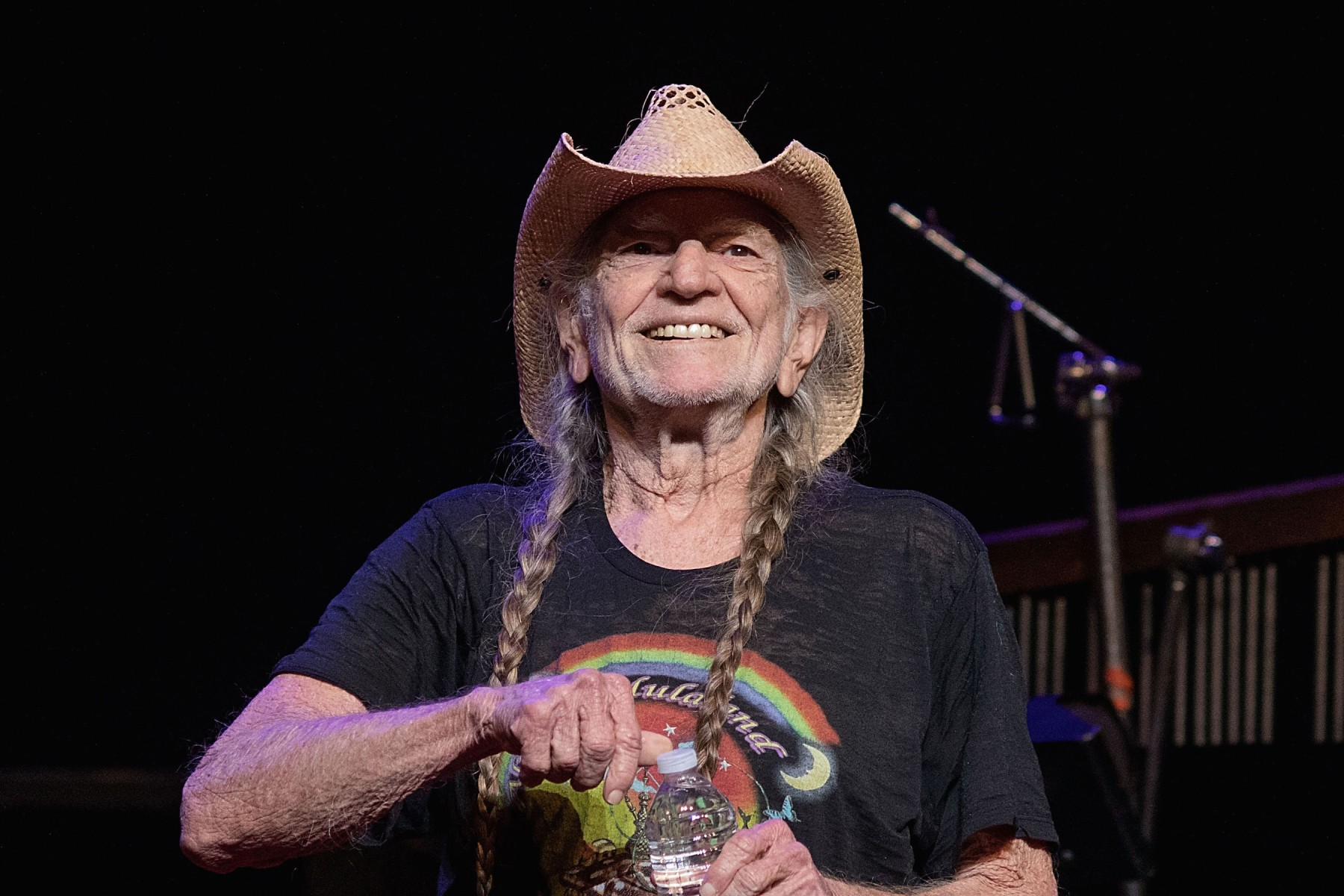 Singer-songwriter Willie Nelson performs in concert at ACL Live on December 29, 2017 in Austin, Texas. Nelson recently spoke out against the current state of immigration policy. (Photo by Rick Kern/WireImage)
