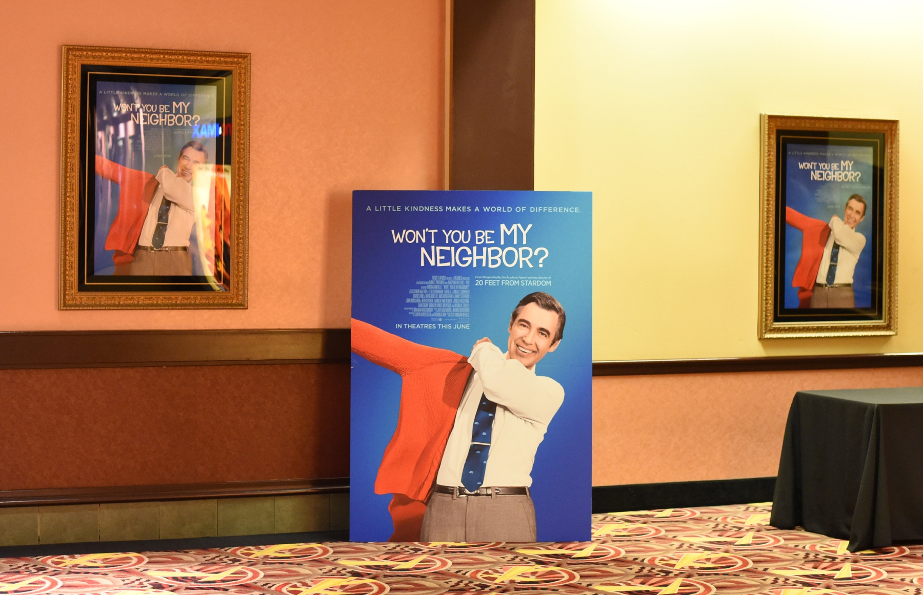 """A general view of atmospher during a special screening of """"Won't You Be My Neighbor?"""" on May 23, 2018 in West Homestead, Pennsylvania.  (Photo by Jason Merritt/Getty Images for Focus Features)"""