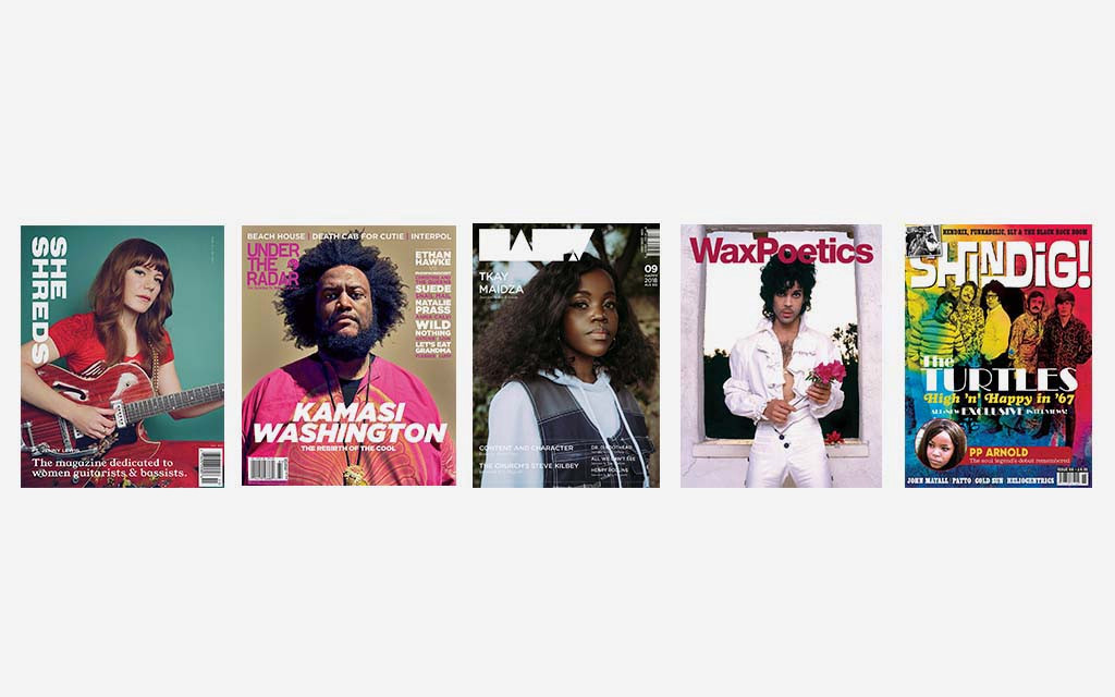 music magazines, media magazines