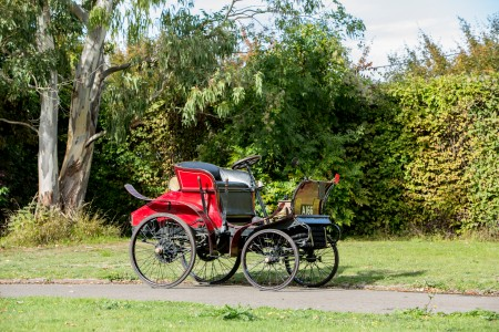 The 1900 English Mechanic which is headed to auction on November 2. (Bonhams)