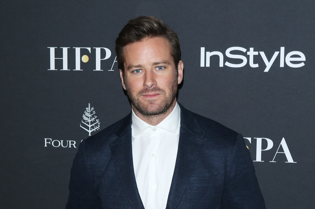 """Armie Hammer attends The Hollywood Foreign Press Association and InStyle party during 2018 Toronto International Film Festival held at Four Seasons Hotel on September 8, 2018 in Toronto, Canada. Hammer was recently cast in the upcoming movie """"Death in the Nile.""""  (Photo by Michael Tran/FilmMagic/Getty Images)"""