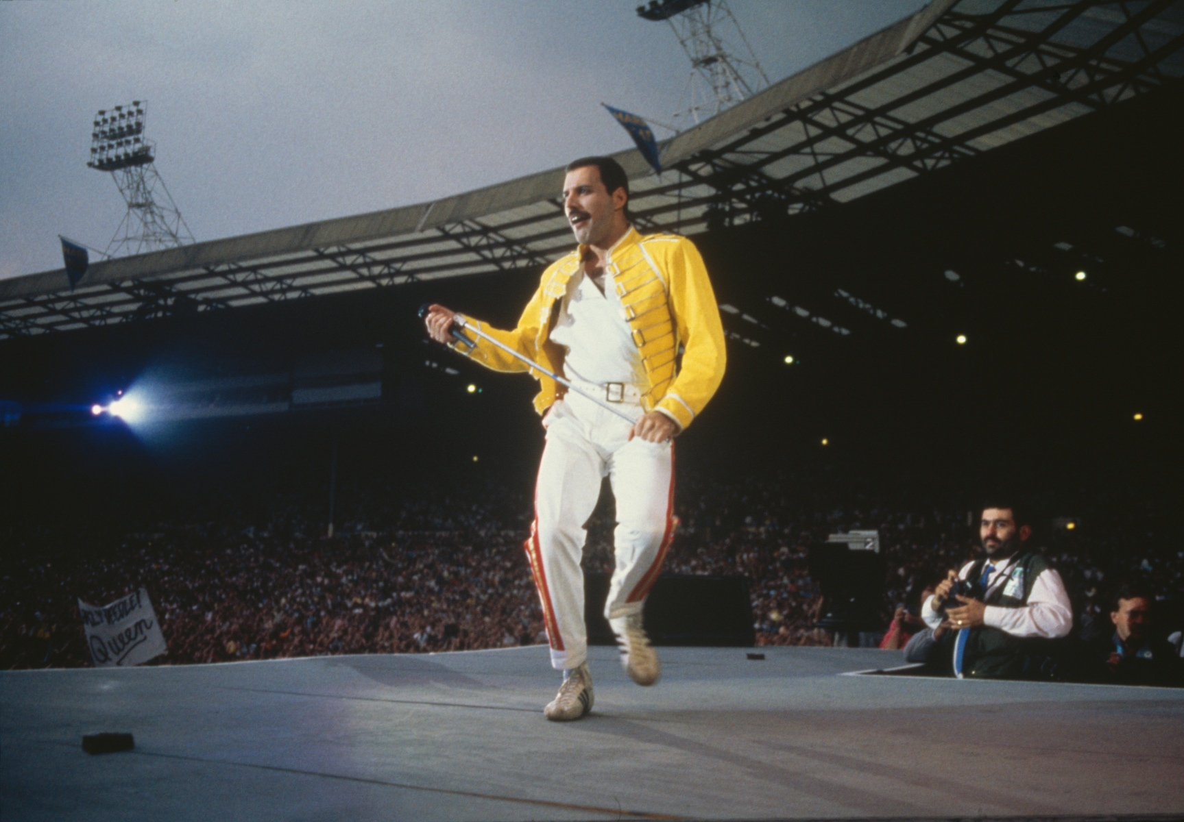 Nine Freddie Mercury Stage Looks Will Still Rock You - InsideHook