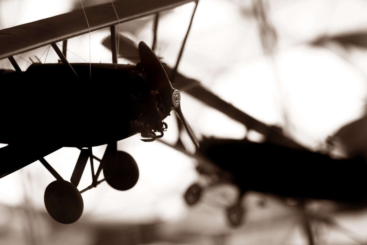 Aerial combat changed forever on Oct. 5, 1914.