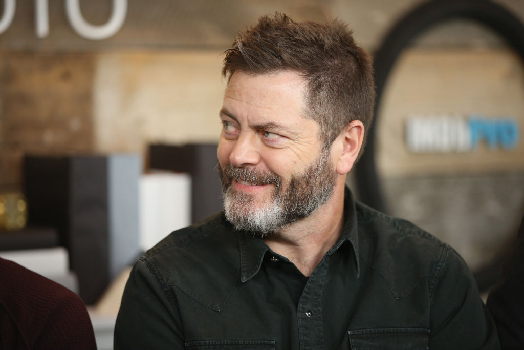 """Actors  Nick Offerman of """"White Fang' attends The IMDb Studio and The IMDb Show on Location at The Sundance Film Festival.  (Rich Polk/Getty Images for IMDb)"""