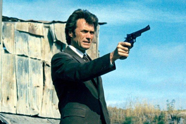 Clint Eastwood as Inspector Harry Callahan of the San Francisco Police Department in the film 'Dirty Harry', 1971. (Photo by Silver Screen Collection/Getty Images)