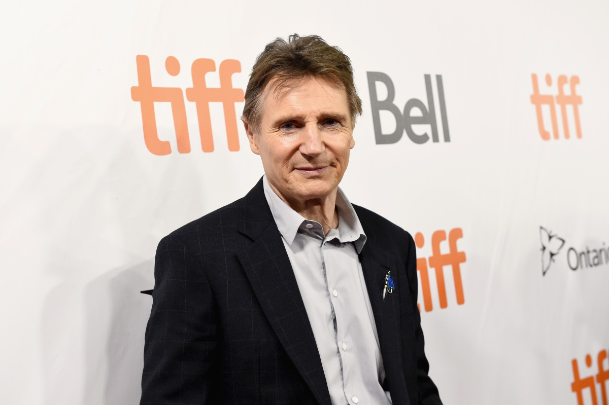 """Liam Neeson attends the """"Widows"""" premiere during 2018 Toronto International Film Festival at Roy Thomson Hall on September 8, 2018 in Toronto, Canada. Neeson recently opened up about a connection he had with a horse on the set of """"The Ballad of Buster Scruggs."""" (Photo by Kevin Winter/SHJ2018/Getty Images for TIFF)"""