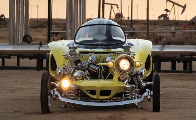 "The 1962 Ed Roth ""Mysterion"" Recreation (Karissa Hosek 2018, Courtesy of RM Sotheby's)"