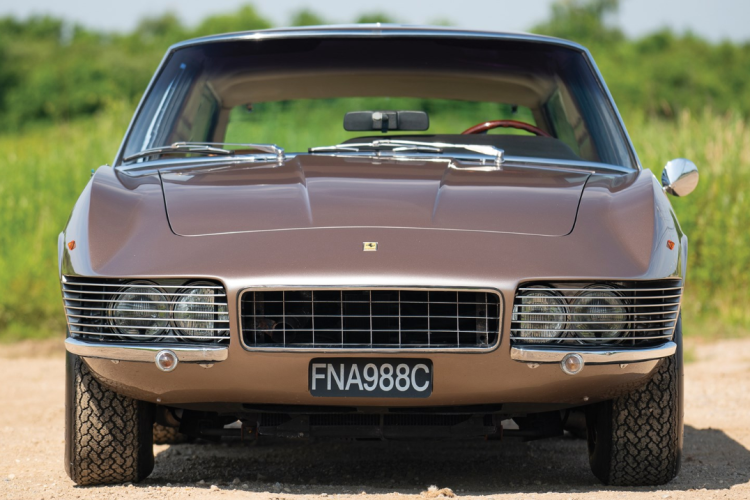 The 1965 Ferrari 330 GT Shooting Brake which will be sold at the Californian Petersen Automotive Museum Auction. (RM Sotheby's)