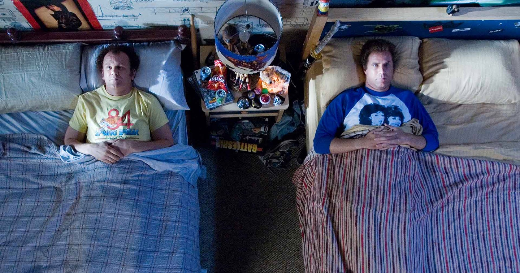 Dale Doback (John C. Reilly) and Brennan Huff (Will Ferrel)