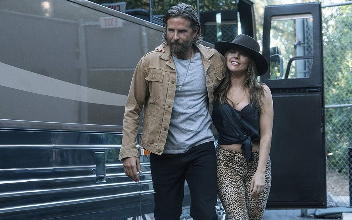 A Star Is Born Jackson Maine Bradley Cooper Lady Gaga