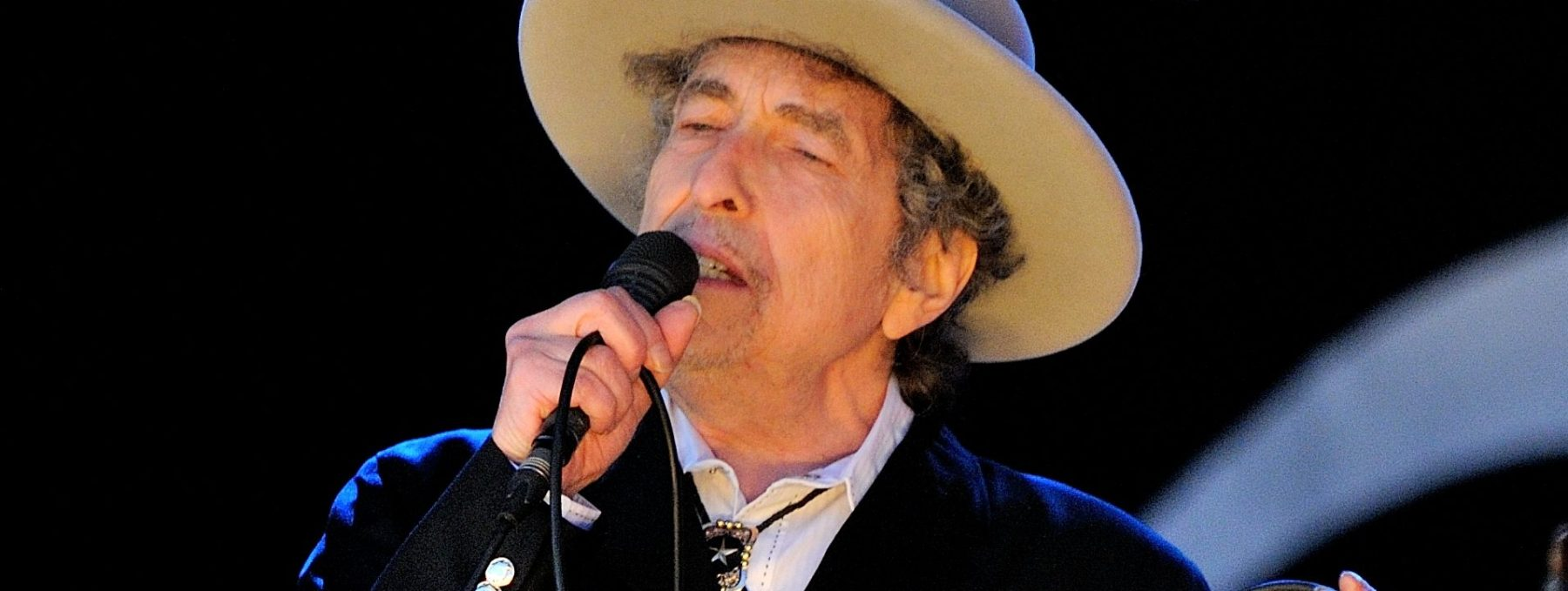 Bob Dylan performs on stage during Hop Farm Festival at Hop Farm Family Park on June 30, 2012 in Paddock Wood, United Kingdom. (Photo by Gus Stewart/Redferns via Getty Images)