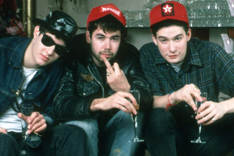 American band Beastie Boys, December 1986. (Photo by Waring Abbott/Michael Ochs Archives/Getty Images)