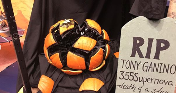 See It Nasa Engineers Carved Out Of This World Pumpkins For