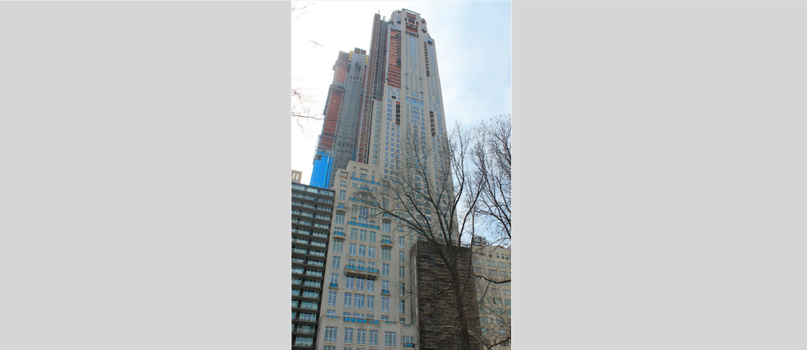 220 Central Park South (Photo credit: Wikimedia Commons)