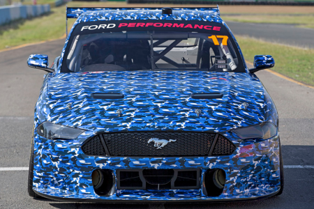 The first official images of the 2019 Ford Mustang Supercar. (Ford Australia and DJR Team Penske)